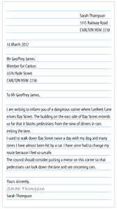 Official Letter Format Australia Correct Letter Format Filename Guatemalago