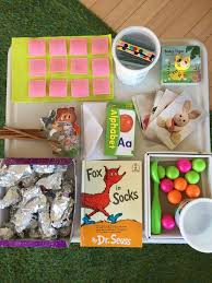 Wednesday box of activities for 12-18 month olds – Chicklink