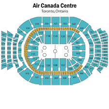 Air Canada Centre Seating Chart Hockey Breakdown Of The Scotiabank Arena Seating Chart Toronto