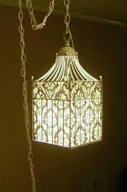 bird cage light birdcage light lined w pretty paper fabric birdcage light fittings bird cage light