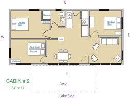 More 5 Lovely Log Home Plans 3 Bedroom