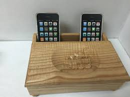 ... Custom phone chaging station ...