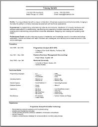 job resume sample pdf