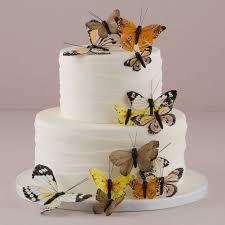 Wedding Butterflies 24 Feather Butterflies Wedding Cake Etsy