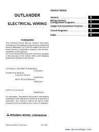 mitsubishi outlander wiring diagram pdf mitsubishi wiring mitsubishi outlander wiring diagram pdf mitsubishi wiring diagrams