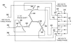 patent us7049921 auto transformer for use with multiple pulse 12 Pulse Transformer Winding Diagram 12 Pulse Transformer Winding Diagram #82 Step Down Transformer Diagram