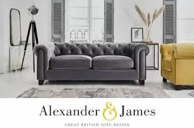 So he bought a $40 skill saw, some stain, and wood and built a coffee table in his garage. Alexander James Furniture Great British Sofas Furniture Village