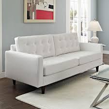 enfield modern white leather sofa  eurway furniture