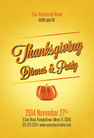 thanksgiving flyers psd word templates demplates thanksgiving flyer template