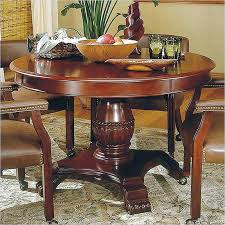 perfect 48 round dining table c6421197 silver company tournament wood round casual dining table in cherry