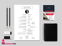 unique resume template designer cv template free psd freedownloadpsd com