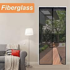 us 22 99 reliancer fiberglass magnetic screen door 36 x96 large magnet patio door mesh curtain for door opening up to 34 x95 w full frame velcro outdoor