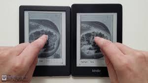 Kindle Paperwhite 4 Vs 79 Kindle Comparison Review 2018