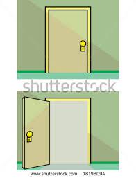 open and closed door clipart. Inspiring Open And Closed Door Clipart With