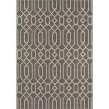 baja grey 2 ft x 5 ft indoor outdoor area rug