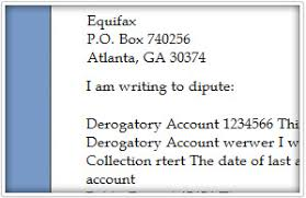 Letters To Dispute Credit Free Download Sample Credit Repair Letters Dispute Letter To Credit
