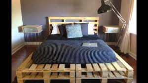 shipping pallet furniture ideas. Good Looking Bedroom Decoration Using Shipping Pallet Bed Frame : Endearing Picture Of Furniture Ideas