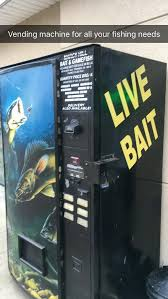 Used Live Bait Vending Machine For Sale Mesmerizing Live Bait Vending Machine Ofcoursethatsathing