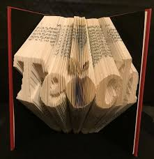 book folding pattern forteach with an apple as the a free tutorial