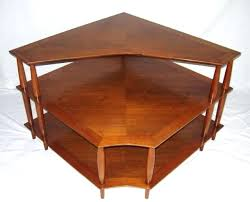 henredon side table stunning heritage walnut 3 tier side corner table furniture regarding amazing coffee table henredon side table
