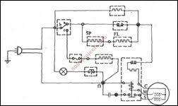 free electronic circuits & 8085 projects blog archive double door double door fridge wiring diagram double door dual temperature refrigerator circuit 2