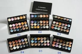mac 18 color powder eyeshadow palette mac makeup brushes reasonable