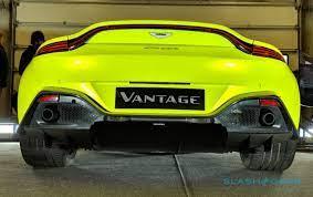 2019 Aston Martin Vantage First Drive The Porsche Hunter Slashgear