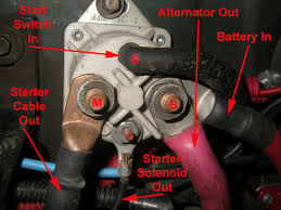 starter solenoid wire ford bronco forum