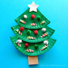 Wonderful DIY Christmas Santa  Rudolph And Snowman Using Paper Christmas Crafts Using Paper Plates