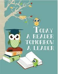 Reading Books Owl Art Print Owls Reading Wall Decor Owl Art Kids