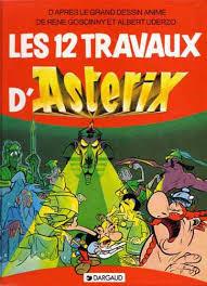 les douze travaux d astérix goscinny