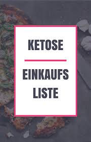 Abnehmen ketose
