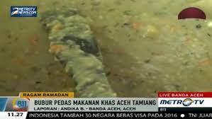 Tampilannya memang tidaklah menarik bagi sebagian. Bubur Pedas Aceh Tamiang Hidangan Wajib Saat Ramadan