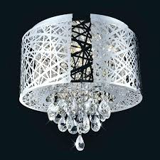 archaicawful ring led modern crystal chandelier ceiling