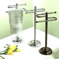 creative free standing bath towel rack free standing hand towel racks medium size of design free standing with free standing towel racks bathroom towel rail