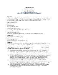 sql resume . sql skills resumes