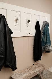 32 old door coat rack