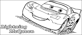 Small Picture Lightning Mcqueen Coloring Pages Color Zini