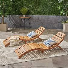 great deal furniture set of 2 lisbon outdoor folding chaise lounge chair