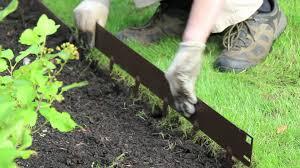 Diy Lawn Edging Ideas Diy Metal Lawn Edging Six Roosters Farm Diy Farm Project Lawn