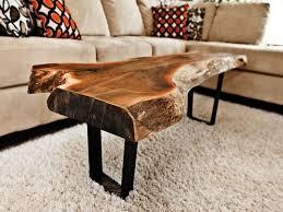 Image Of: Tree Stump Coffee Table Style