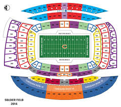 nfl stadium seating charts