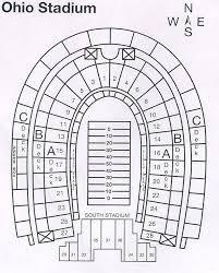 Ohio Stadium Seating Chart With Rows Ohio Stadium