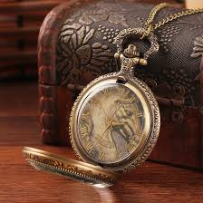 aliexpress com buy special antique brass men women vintage aliexpress com buy special antique brass men women vintage pocket watch necklaces steel horse old style gold vintage quartz pocket watch from reliable