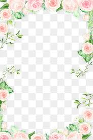 Floral Borders For Word Download Free Png Flowers Borders Png Dlpng Com