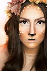 selfmade deer make up deer deermakeup bambi deer costume makeup deer