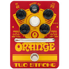 <b>Orange Two Stroke</b> Boost EQ Pedal « <b>Педаль</b> эффектов для ...