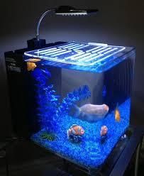 hidom aquarium fish tank 10 and 15 litre office desk aquarium