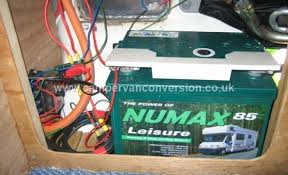 campervan electrics campervan conversion leisure batteries