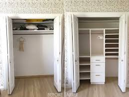 if you are planning to stay in your home for a long time or have multiple kids like we are i think it s totally worth it to build out a standard closet